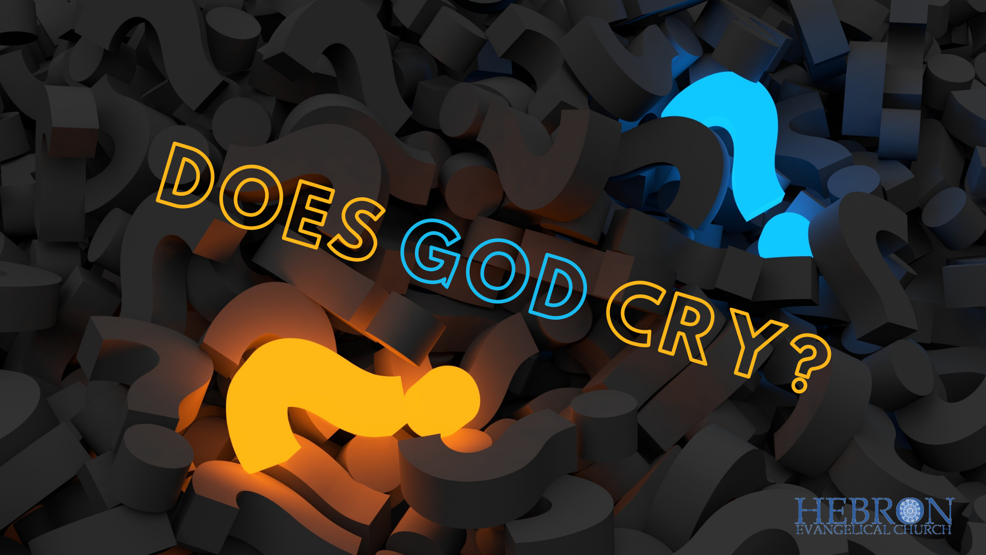 Does God cry