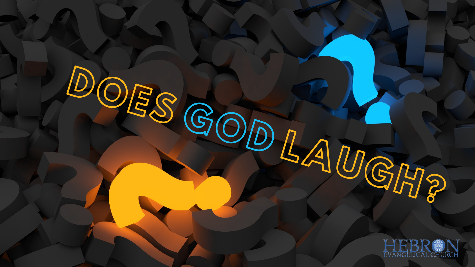 Does God laugh