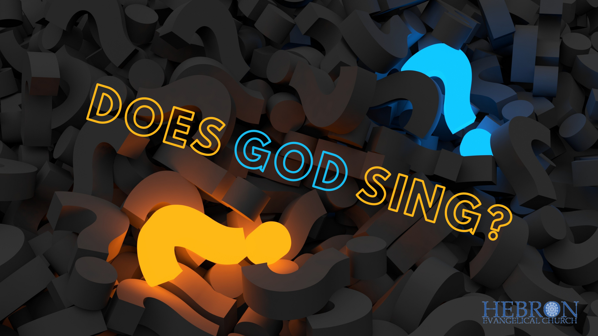 Does god sing
