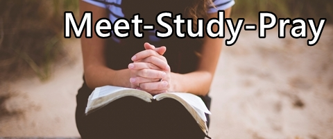 study  pray banner text