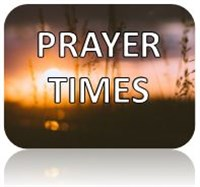 Prayer times button