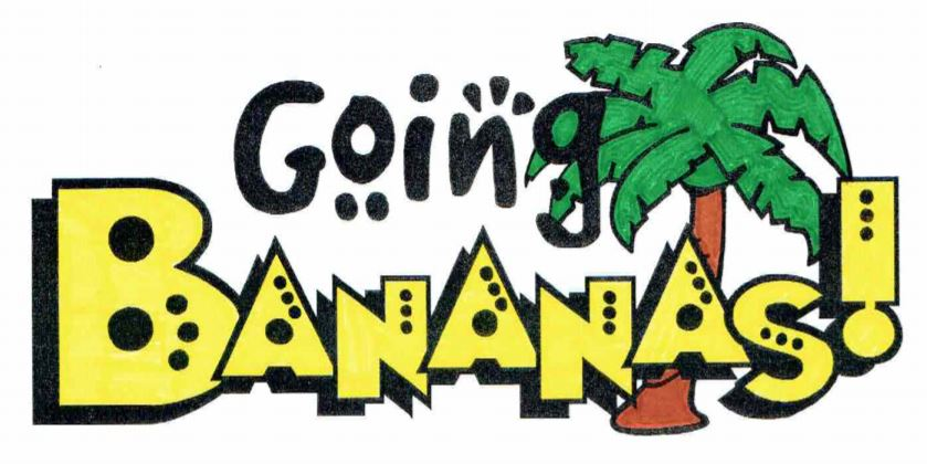 going bananas logo colour