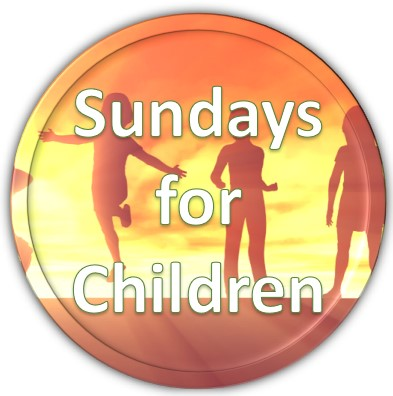 sundays for children button 3